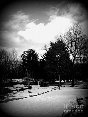 Ethereal - The Journey of Life - Holga Black and White by Frank J Casella