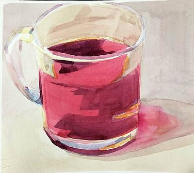Painting - The juice is a gem  by Jo Mackenzie