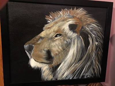 Painting - The King by Mary Beth D'Aloia