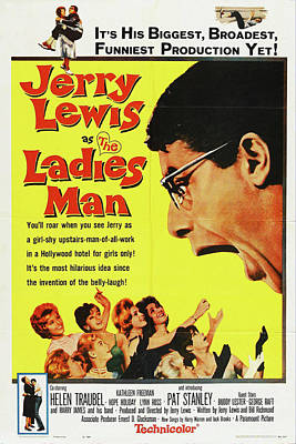 Royalty-Free and Rights-Managed Images - The Ladies Man, with Jerry Lewis, 1961 by Stars on Art