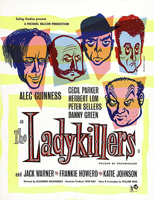 Personalized Name License Plates - The Ladykillers, with Peter Sellers and Alec Guinness, 1955 by Stars on Art