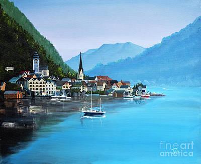 Painting - The Lake by Gary 'TAS' Thomas