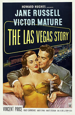 Travel - The Las Vegas Story, with Jane Russell and Victor Mature, 1952 by Stars on Art