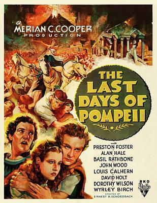 Travel - The Last Days of Pompeii, 1935 by Stars on Art