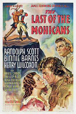 Personalized Name License Plates - The Last of the Mohicans, with Randolph Scott and Binnie Barnes, 1936 by Stars on Art