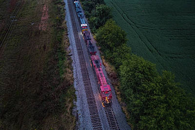 Anne Geddes Florals - The last shot of the day of CSX K442 at Guthrie Kentucky by Jim Pearson