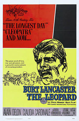 Royalty-Free and Rights-Managed Images - The Leopard, with Burt Lancaster, 1963 by Stars on Art