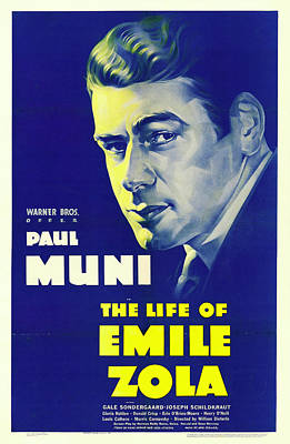 Royalty-Free and Rights-Managed Images - The Life of Emile Zola, with Paul Muni, 1937 by Stars on Art