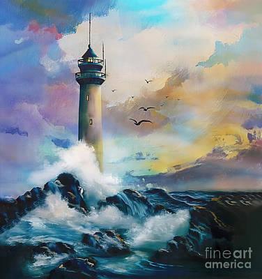 Sean - The Light House art 34 by Gull G