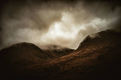 Photograph - The Lights Of Scotland by Philippe Sainte-Laudy