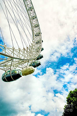 Travel - The London eye 2 by Micah May