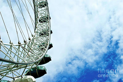 Shark Art - The London eye 4 by Micah May