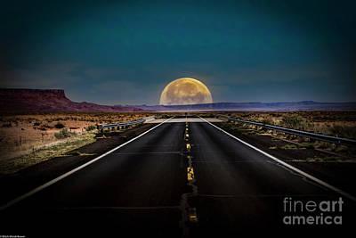 Vintage Movie Stars - The Lost Highway by Mitch Shindelbower