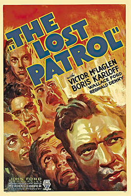 Royalty-Free and Rights-Managed Images - The Lost Patrol, 1934 - b by Stars on Art
