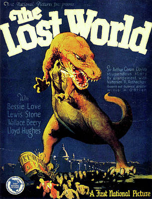 Caravaggio - The Lost World movie poster 1925 by Stars on Art
