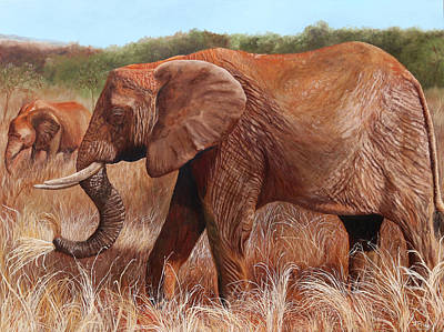 Painting - The Lovely Giant by Jan Priddy
