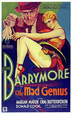 Mixed Media Royalty Free Images - The Mad Genius movie poster 1931 Royalty-Free Image by Stars on Art