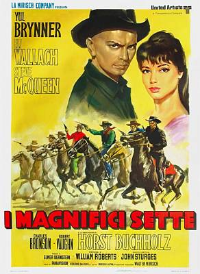 Royalty-Free and Rights-Managed Images - The Magnificent Seven, 1960 by Stars on Art