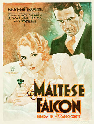 Royalty-Free and Rights-Managed Images - The Maltese Falcon, 1931 by Stars on Art