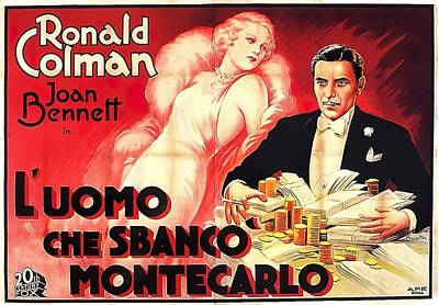 Royalty-Free and Rights-Managed Images - The Man Who Broke the Bank at Monte Carlo, 1935 by Stars on Art