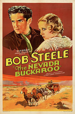 Royalty-Free and Rights-Managed Images - The Nevada Buckaroo poster 1931 by Stars on Art