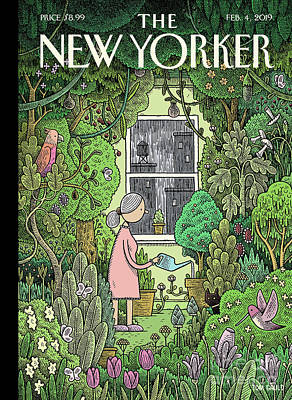 Fantasy Royalty-Free and Rights-Managed Images - The New Yorker - February 4, 2019 by Tom Gauld