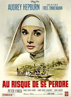 Royalty-Free and Rights-Managed Images - The Nuns Story, with Audrey Hepburn, 1959 by Stars on Art