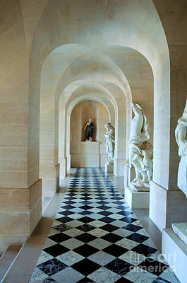 Pop Art Rights Managed Images - The Palace of Versailles Hallway Royalty-Free Image by John Stone