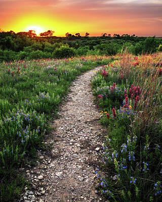 Photograph - The Path Less Traveled by KC Hulsman