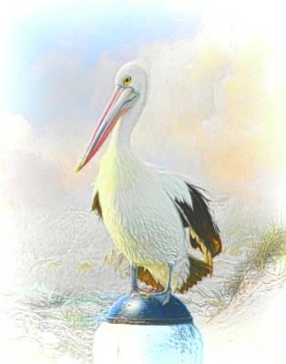 The Bunsen Burner - The Pelican by Trudi Simmonds