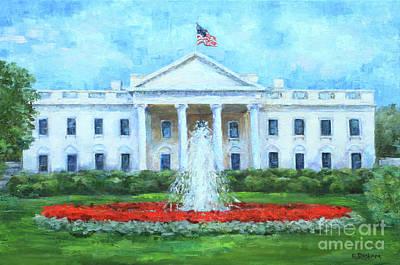 Painting - The People's House by Elizabeth Roskam