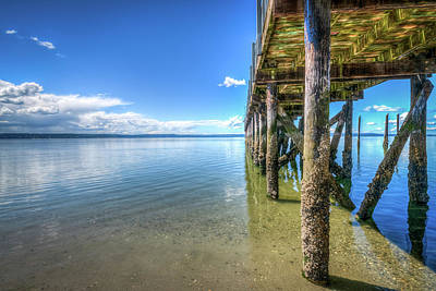 Lucille Ball - The Pier at Kayak Point ll by Spencer McDonald