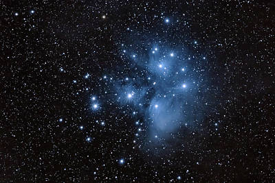 David Bowie - The Pleiades-m45 by Grant Glendinning