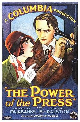 Royalty-Free and Rights-Managed Images - The Power of the Press - 1928 by Stars on Art