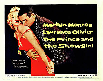 Mixed Media Royalty Free Images - The Prince and the Showgirl poster 1957 Royalty-Free Image by Stars on Art