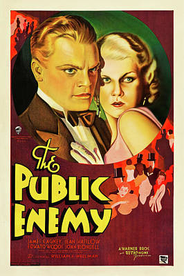 Royalty-Free and Rights-Managed Images - The Public Enemy, 1931 -b by Stars on Art