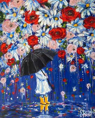 Painting - The Rains Promise  by Elena Kent