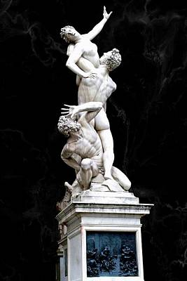 Superhero Ice Pop - The Rape of the Sabine Women by Giambologna, Florence, Italy. by Joe Vella
