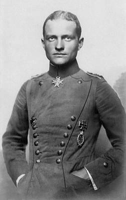 Firefighter Patents Royalty Free Images - The Red Baron - Manfred von Richthofen - 1917 Royalty-Free Image by War Is Hell Store