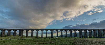 David Bowie - The Ribblehead Viaduct by Paul Madden