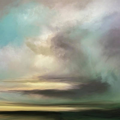 Landscapes Mixed Media - The Rift by Lonnie Christopher