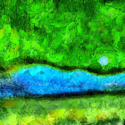 Royalty-Free and Rights-Managed Images - The River by Bruce Rolff