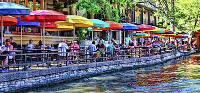 Keith Richards - The River Walk # 17 - San Antonio by Allen Beatty