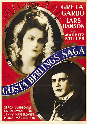 Caravaggio - The Saga of Gosta Berling with Greta Garbo and Lars Hanson, 1924 by Stars on Art