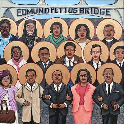Painting - The Saints of Selma by Kelly Latimore