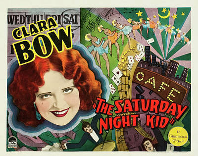 Lady Bug - The Saturday Night Kid - 1929 by Stars on Art