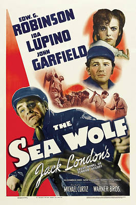 Kim Fearheiley Photography - The Sea Wolf, with Edward G. Robinson and Ida Lupino, 1941 by Stars on Art