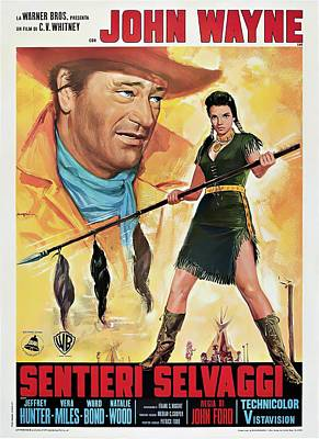 Royalty-Free and Rights-Managed Images - The Searchers, 1956 - b by Stars on Art