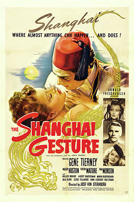 Royalty-Free and Rights-Managed Images - The Shanghai Gesture, 1942 by Stars on Art