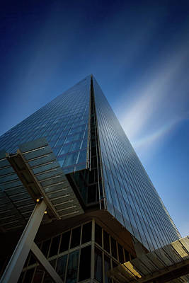 Wine Corks Royalty Free Images - The Shard in London Royalty-Free Image by Ian Good